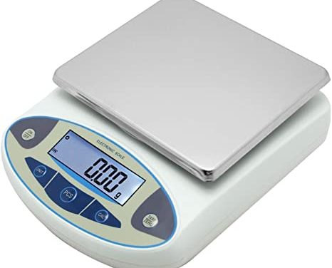 how to use a food scale and log the food correctly